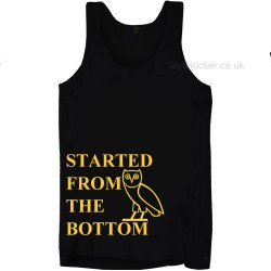 Started From The Bottom Drake Owl Vest