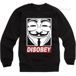 Disobey Anonymous Guy Fawkes Sweatshirt