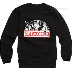 Get Money Monopoly Guy Sweatshirt