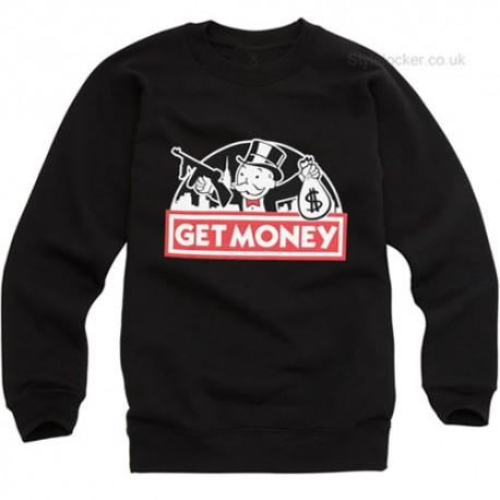 Get Money Monopoly Guy Sweatshirt