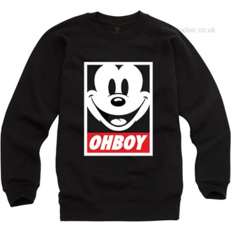 Mickey Mouse Ohboy Sweatshirt