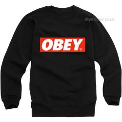 Obey Font Sweatshirt