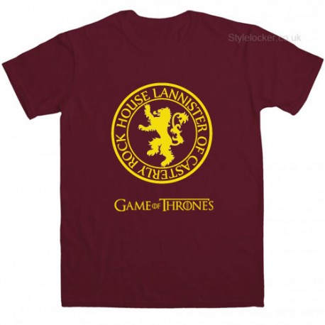 House Lannister Lion Game Of Thrones Tv Series T Shirt