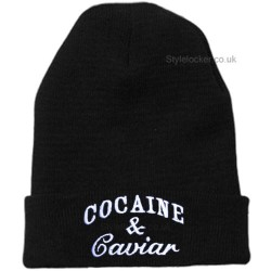Cocaine and Caviar Beanie Hat