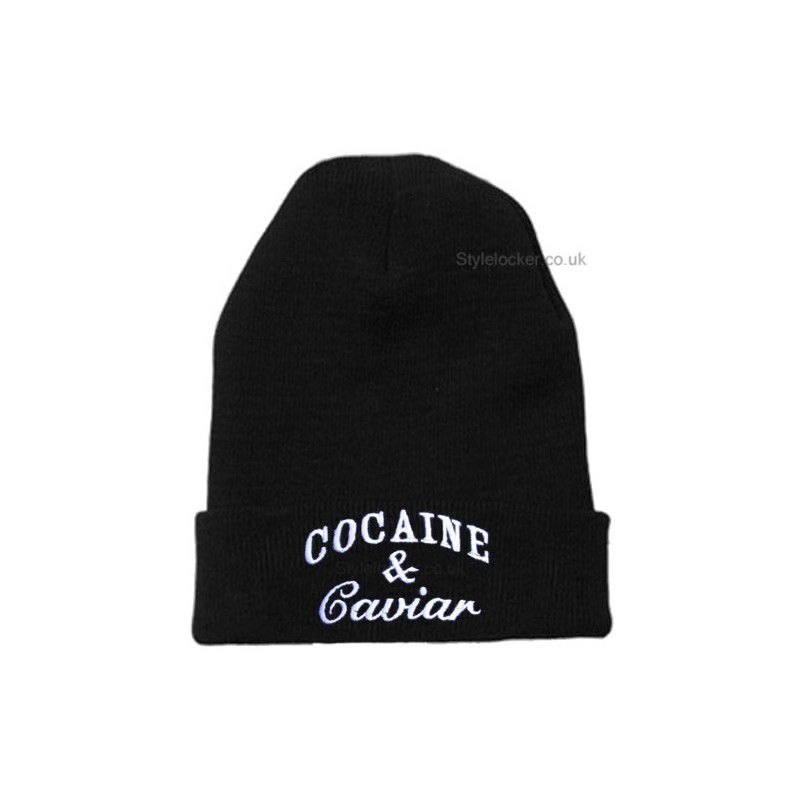 Boy Better Know Hat: Cocaine And Caviar Beanie Hat