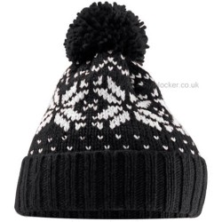 Fairisle Snow Winter Beanie Hat