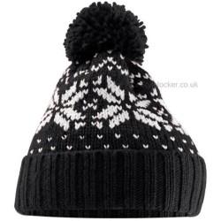 Fairisle Snow Winter Beanie Hat