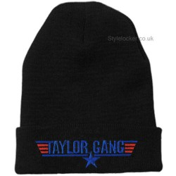 Taylor Gang Beanie Hat Black