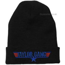 Taylor Gang Beanie Hat Black