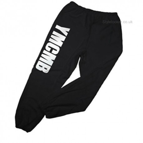 YMCMB Black Sweatpants