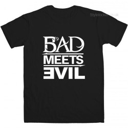 EMINEM BAD MEETS EVIL T-SHIRT