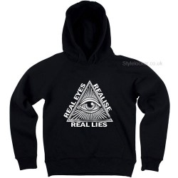 Real Eyes Realise Real Lies Hoodie