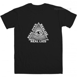 Real Eyes Realise Real Lies T Shirt