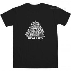 Real Eyes Realise Real Lies T Shirt
