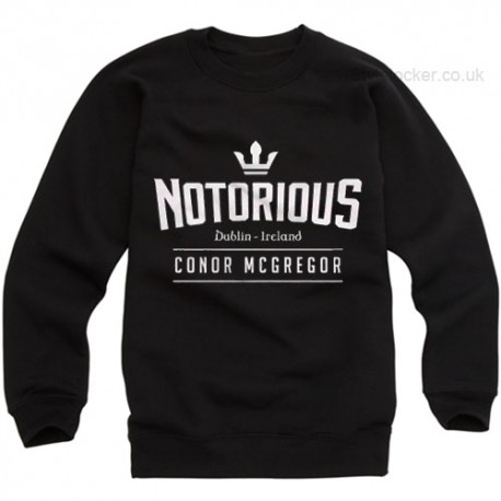 Conor Mcgregor Notorious Sweatshirt