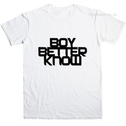 Boy Better Know T Shirt