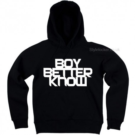 Boy Better Know Hoodie