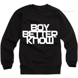 Boy Better Know Sweatshirt