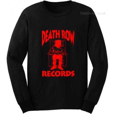 Death Row Records Long Sleeve T Shirt