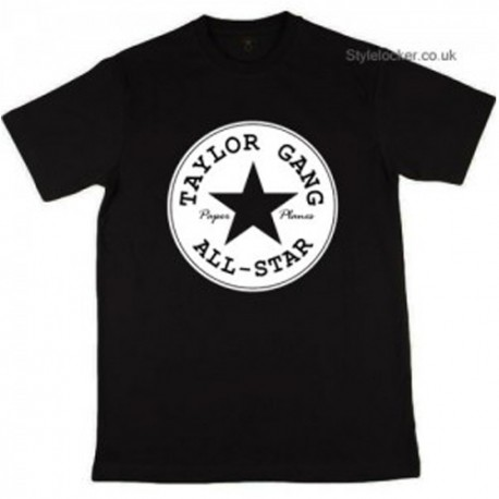 Taylor Gang All Star Paper Planes T-Shirt