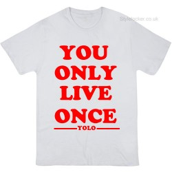 You Only Live Once Drake YOLO T-Shirt