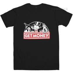 Get Money Monopoly Guy T-Shirt